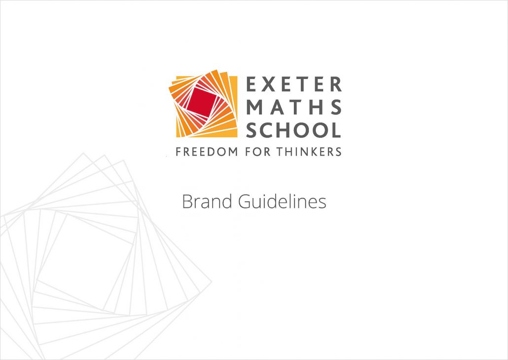 Exeter Maths School brand guidelines