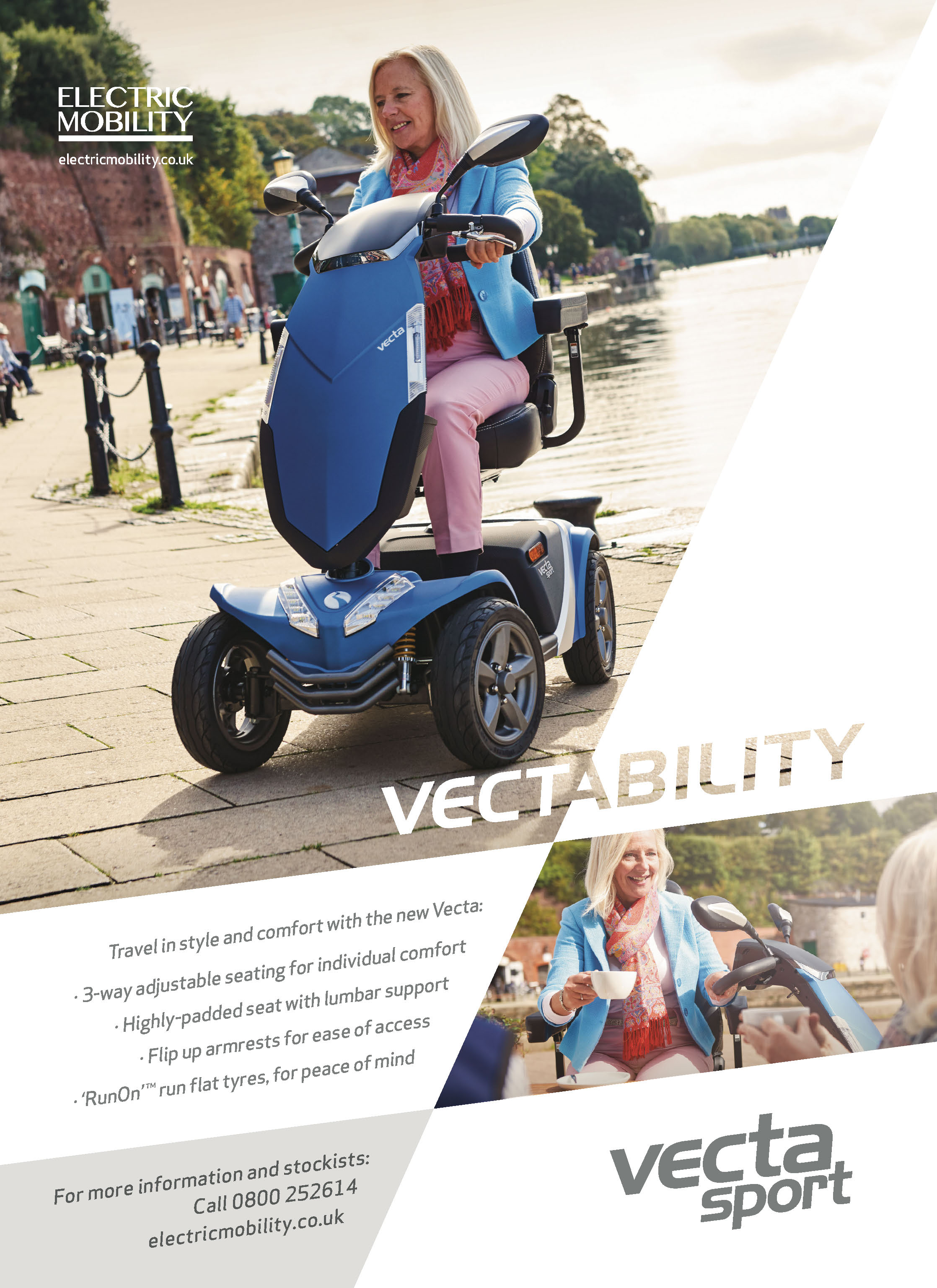 Electric Mobility Vecta scooter