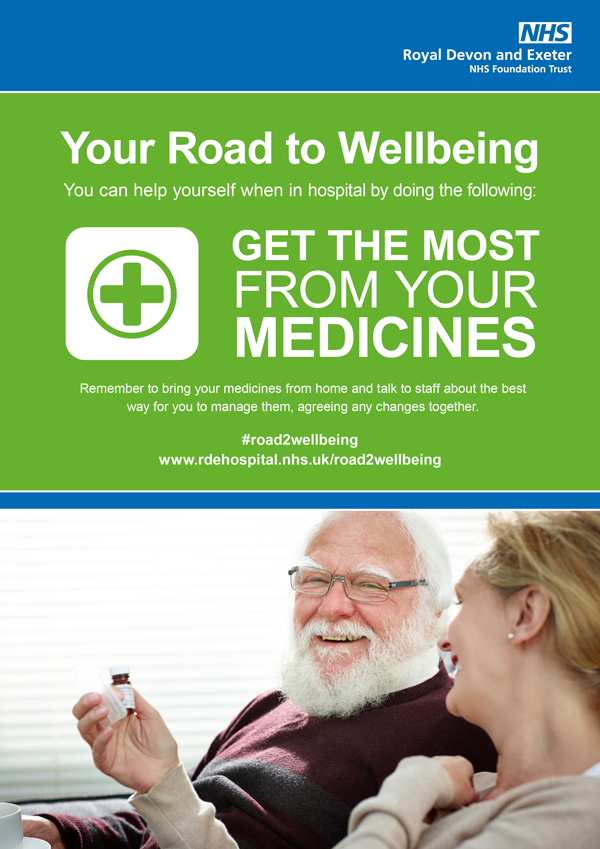 NHS Road to wellbeing poster