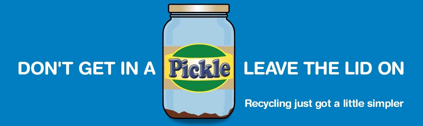 Recycle Devon Leave the lid on campaign