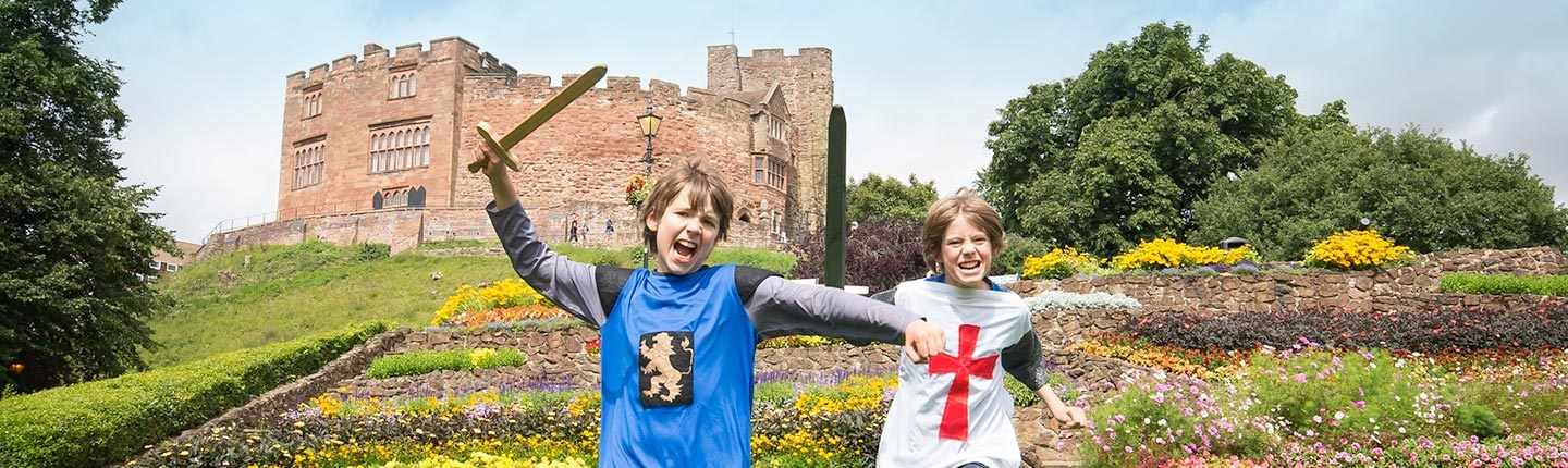 enjoy Staffordshire Tamworth Castle