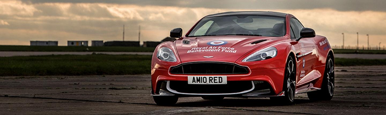 RAFBF's Aston Martin Raffle Campaign